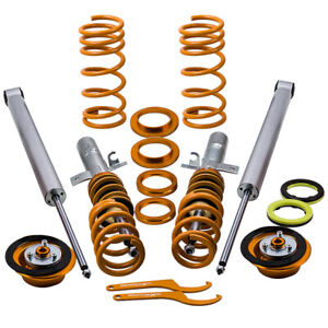 4pcs Coilovers Spring Struts For Volvo S40 V50 C70 Full Set Shocks Suspension
