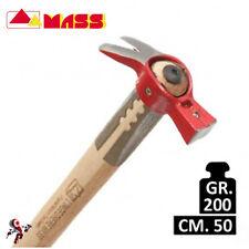 Martello l'Ingegnere Mass 200 gr. con manico legno 50 cm.