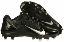 Nike Alpha Pro TD Low Mens Football Cleats 579545-002 Black/Silver Size 15 - NEW