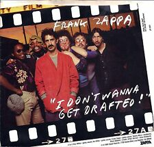 "FRANK ZAPPA. ""I Don't Wanna Get Drafted. Picture Sleeve Single.1980. NM-M"