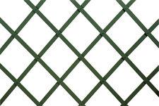 VERDELOOK Traliccio estensibile plastica 100x200cm verde decorazioni terrazza