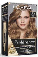 L'OREAL coloration préférence 7.3 Floride blond doré riche en reflets