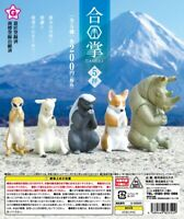 Yell Capsule Animal GASSHO 合掌 Praying Figure Toy P5 Completed Set 5pcs