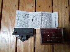 Buck Knives Honemaster No. 136 W/Case & Instructions