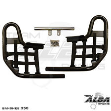 Banshee YFZ 350 YFZ350  Nerf Bars  Alba Racing   Black bar Black nets  207 T1 BB