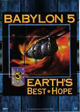 BABYLON 5 SEASON 2 MINI POSTER CARD 3 OF 10