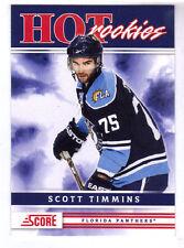 SCOTT TIMMINS - 2011/12 SCORE - ROOKIE CARD - FLORIDA PANTHERS