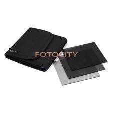 """Fotga 101mm 4x4"""" Full Neutral Density ND2 ND4 ND8 Filter Kit for Mattebox Holder"""