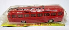 EKO Spain #408 AUTOBUS PEGASO BUS in red 1:88 HO scale plastic MINT on Card