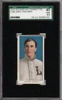 Rare 1909-11 T206 Jake Thielman Sovereign 350 Louisville SGC 45 / 3.5 VG +
