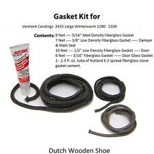 Vermont Castings Gasket Kit Stove rope 3435 0003435 Large Winterwarm 1280  2100