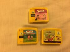 Lot of 4 My First Leap Pad Game Cartridges Dora to the Rescue- Disney-ABC`s-Math