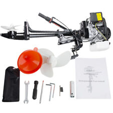 4 Stroke 3.6HP Heavy Duty Safty Outboard Motor Boat Engine +Air Cooling System
