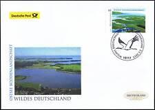 BRD 2015: Báltico-boddenlandschaft post-fdc nº 3126! Berliner sello! 1a! 1510
