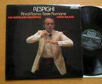 SXL 6822 Respighi Pini Di Roma Feste Romane Lorin Maazel NEAR MINT Decca 1977