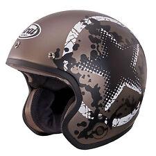 Arai Freeway Classic Open Face Motorbike Motorcycle Helmet Comet Sand XSmall