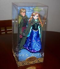 Limited Edition Anna Kristoff Disney Fairytale Designer Collection 6000 Doll Set