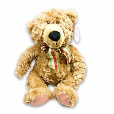 Pier 1 Imports 2018 Dated Plush Christmas Teddy Bear Caleb 16in Stuffed Toy