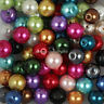 Wholesale Mixed Color Glass Pearl Round Spacer Loose Beads 4mm,6mm,8mm,10mm,12mm