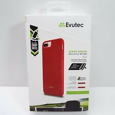Evutec Case Nylon Ballistic for iPhone 8+ 7+ 6s+ 6+ (RED) AERGO SERIES (F2000)