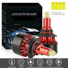 2x CSP Chip 9005 HB3 LED Headlight Bulb 680000LM 8-Side Fog Lamp White Car Light