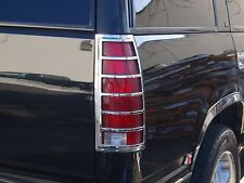 CHEVROLET TAHOE/GMC YUKON 1995 - 1999 TFP CHROME TAILLIGHT COVER SET - 302D