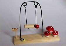 Fairy Garden Swing Fairy Garden, Dolls House Miniature Accessory