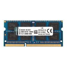For Kingston 8GB PC3L 12800 DDR3L 1600MHz 1600 204pin SODIMM RAM Memory #3H