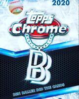 4th 2020 Topps Chrome BEN BALLER EDITION Box Break 1 Random Team+Extras