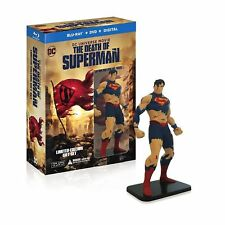 PREORDER: THE DEATH OF SUPERMAN deluxe edition  -  BLU RAY  - Sealed Region free