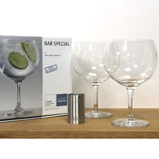 Spanish Gin and Tonic Glass & 50ml Measure Set