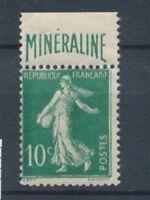 France N°188A 10c vert MINERALINE N** Cote 725 € signé Calves N2252