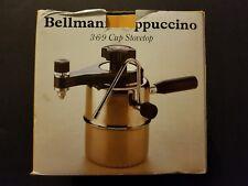 Bellman CX-25 Cappuccino Espresso Maker 3-6-9 Cup Stovetop w/ Box & Manual