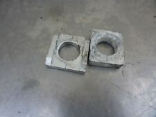 Rear axle spacer blocks Z1000 z 1000 Kawasaki 06 03 04 05 #U2