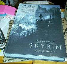 ELDER SCROLLS V SKYRIM COLLECTORS EDITION STRATEGY GUIDE BOOK FACTORY SEALED NEW