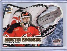 MARTIN BRODEUR Devils 2000/01 Mcdonald's Pacific Prism Glove-Side Net-Fusions SP