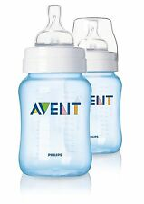 Philips Avent SCF685/27 Classic 2-Pack 260ml/9oz Feeding Bottle - Blue