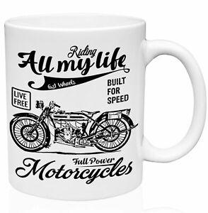 Douglas 2 3 4 Hp Model Full Power Motorcycles 11oz Ceramic Coffee Mug