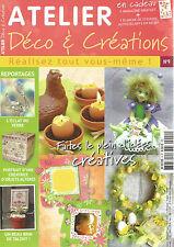 ATELIER DECO&CREATION N°09 ECLAT DU VERRE / CREATRICE OBJETS ALTERES / COQUILLES