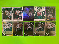 LOT OF (10) DENZEL MIMS 2020 DONRUSS RATED ROOKIE SP Yellow Absolute JETS Invest
