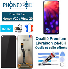 Écran complet LCD + vitre tactile HONOR V20 / View 20 + Outils offerts, stock FR