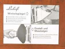 LINHOF ACCESSORY BROCHURE IN GERMAN/48472