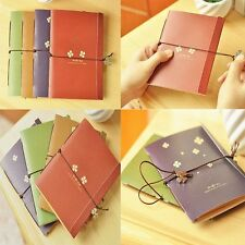 Craft New Durable Blank Pocket Notes Mini Vintage Travel Memo Paper Notebook