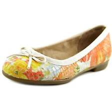 Multi-Colored Leather Ballet Women's Flats