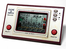 Nintendo Game & Watch Wide Screen Chef FP-24 MIJ 1981 Great Condition_54