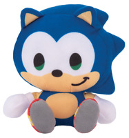 Sonic the Hedgehog Plush Stuffed Figure Doll Boys Girls Children Kids Toy Gift