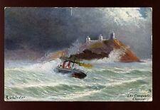 Jersey Les Casquet Channel artist C Earbalestier Tuck Oilette #7133 PPC 1907