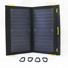 Solar-Go Flair II 2 Mobile Travel 13 Watt SunPower Solar Panel Dual USB Output