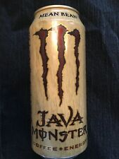 NEW SEALED MEAN BEAN JAVA MONSTER COFFEE-ENERGY DRINK 443mL 1 CAN