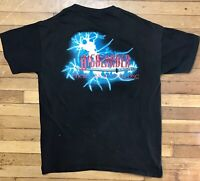 Vintage HIGHLANDER There Can Only Be One t shirt XL 1996 black TV Single Stitch